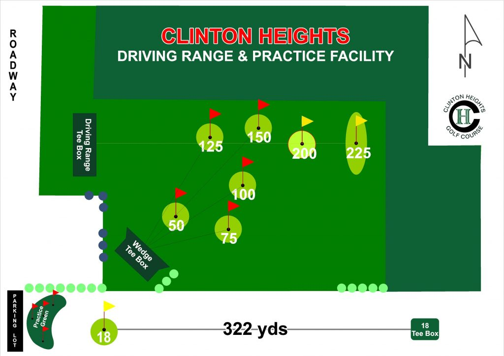 Clinton Heights Golf Course is opening a new driving range and practice facility in Spring 2020.